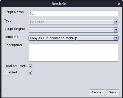 zap curlscript extender2